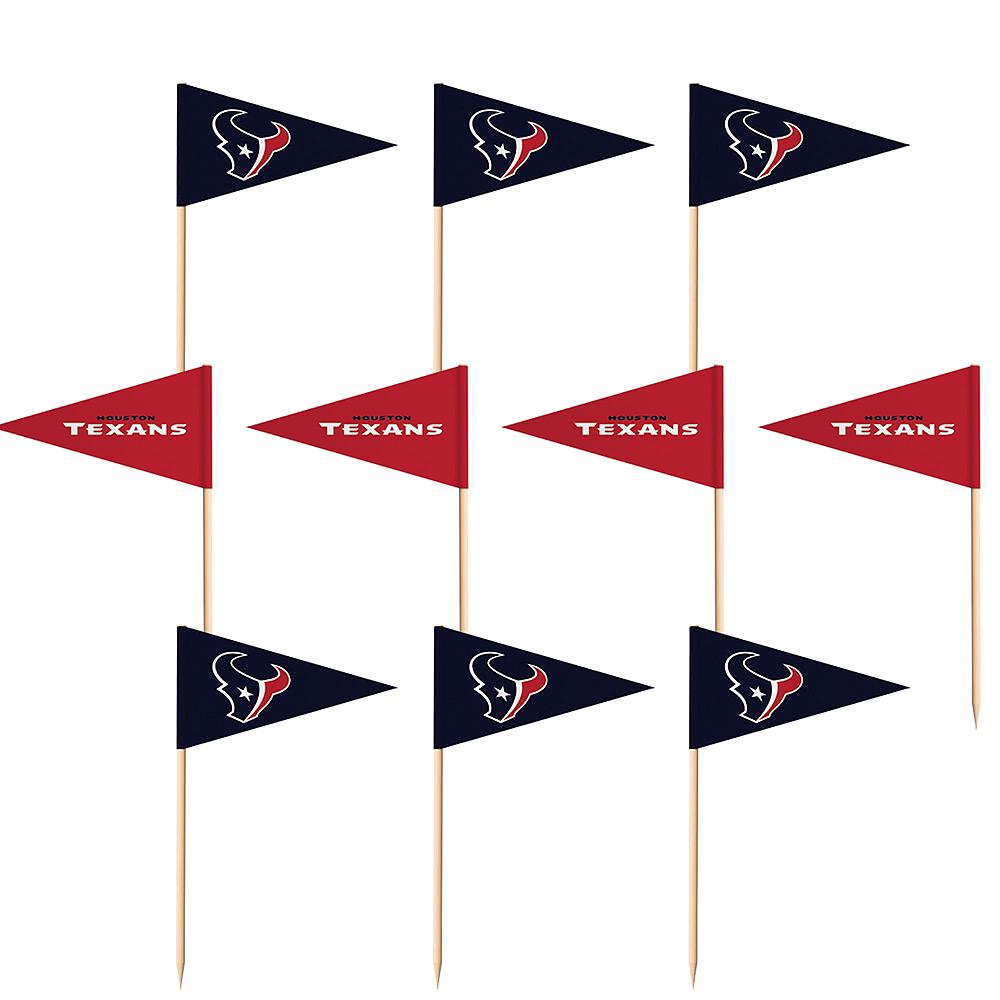 Houston Texans Flag Picks 36ct Image #1