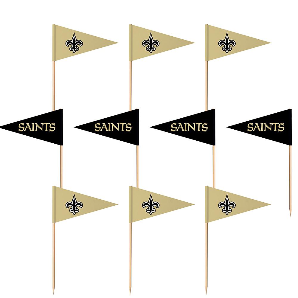 New Orleans Saints Flag Picks 36ct