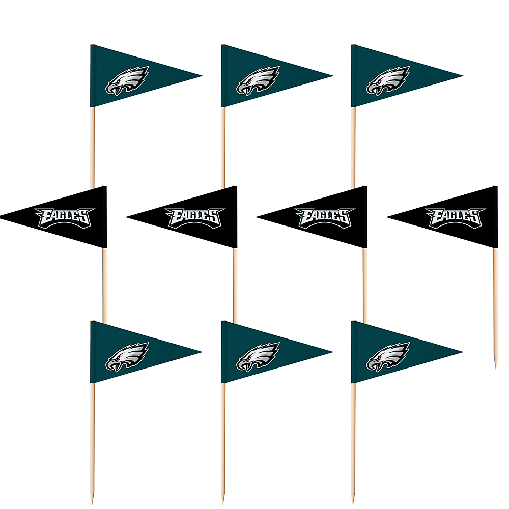 Philadelphia Eagles Flag Picks 36ct Image #1