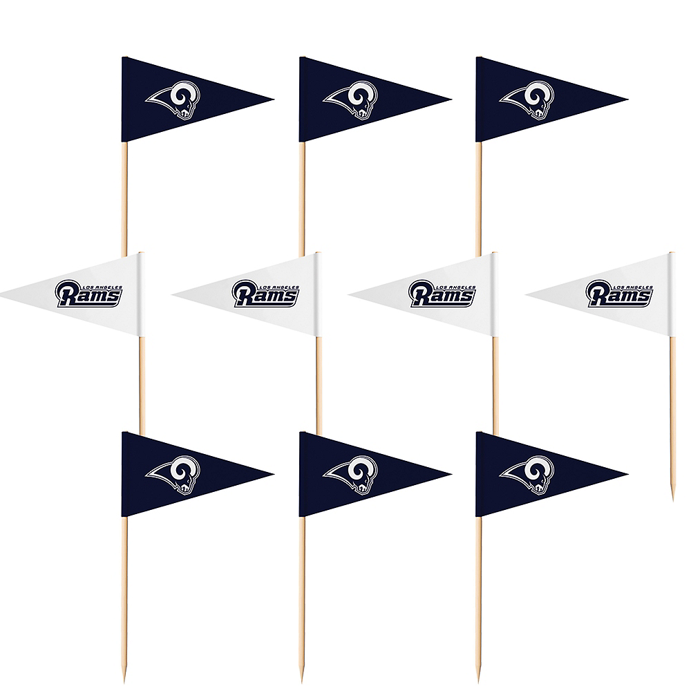 Los Angeles Rams Flag Picks 36ct Image #1