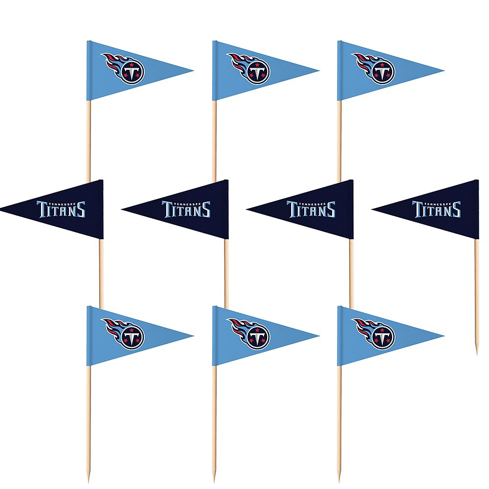 Tennessee Titans Flag Picks 36ct Image #1