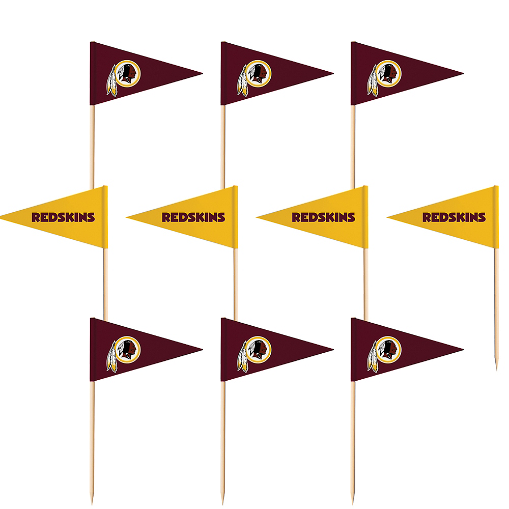 Washington Redskins Flag Picks 36ct Image #1