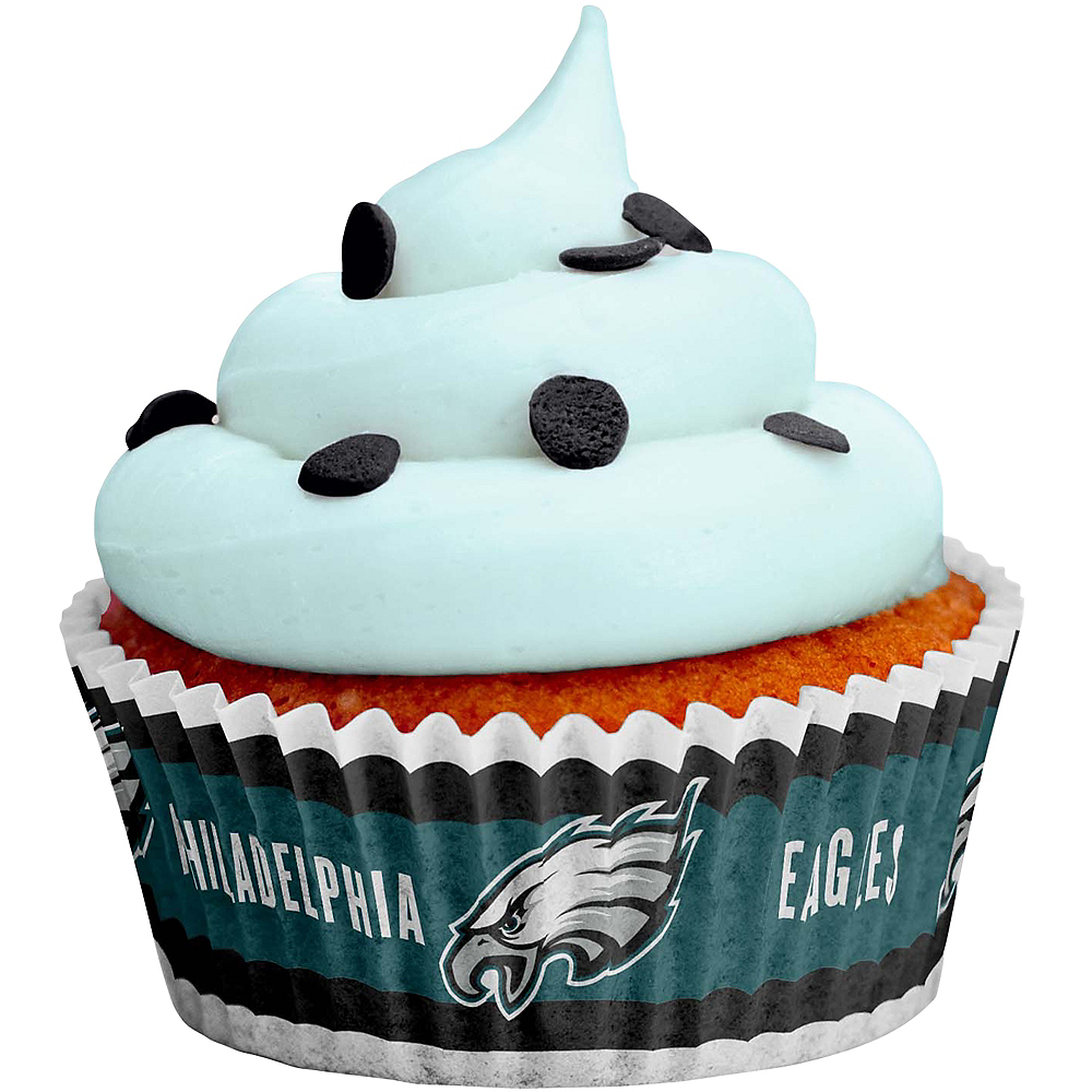 Philadelphia Eagles Baking Cups 50ct Image #1