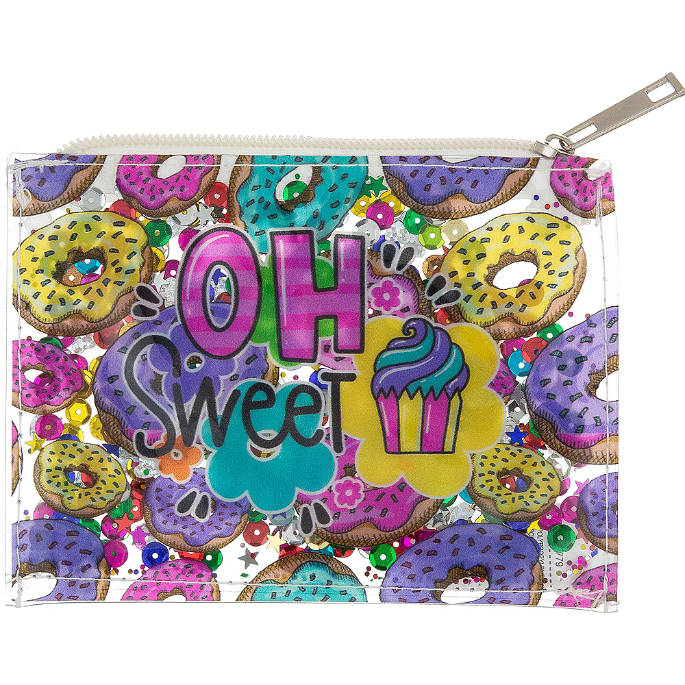 Nav Item for Confetti Shake Sweet Donuts Coin Purse Image #1