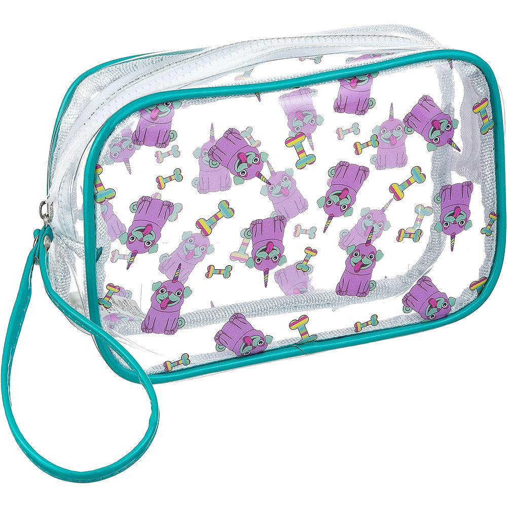 Transparent Uni-Pug Makeup  Bag Image #1