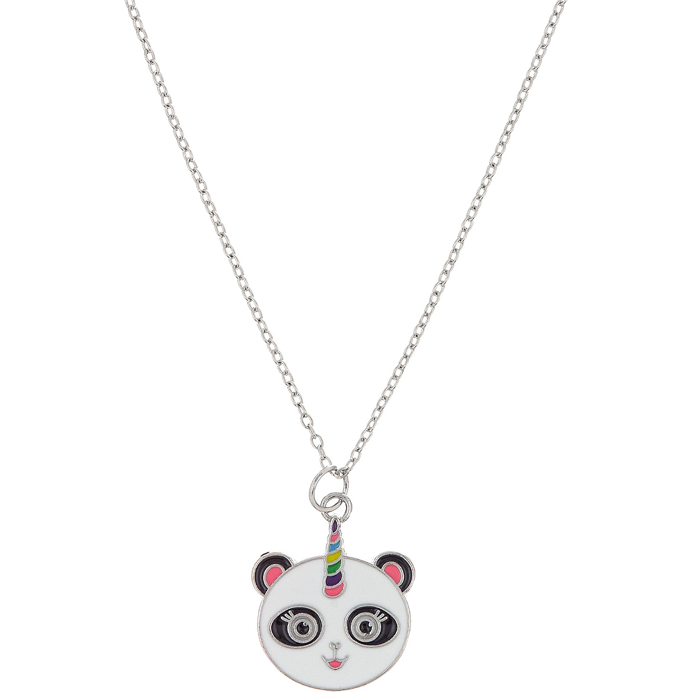 Neon Uni-Panda Necklace Image #1