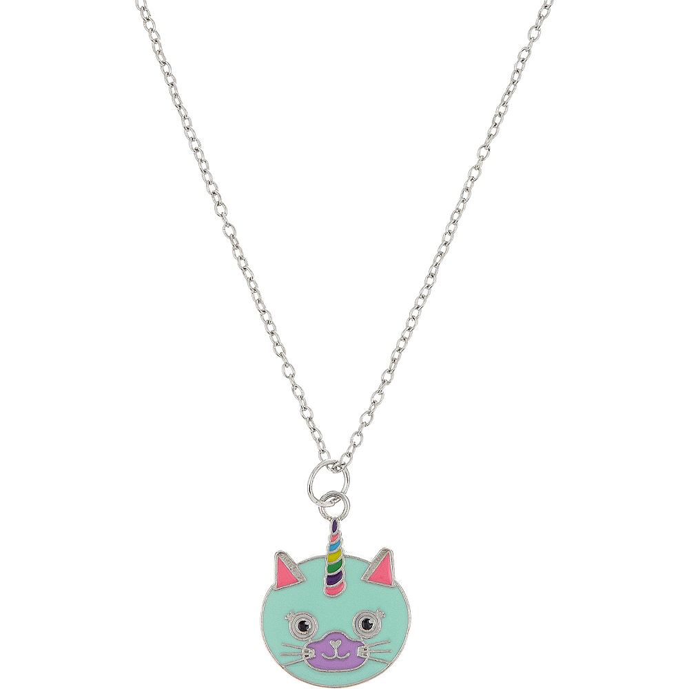Neon Uni-Kitty Necklace Image #1