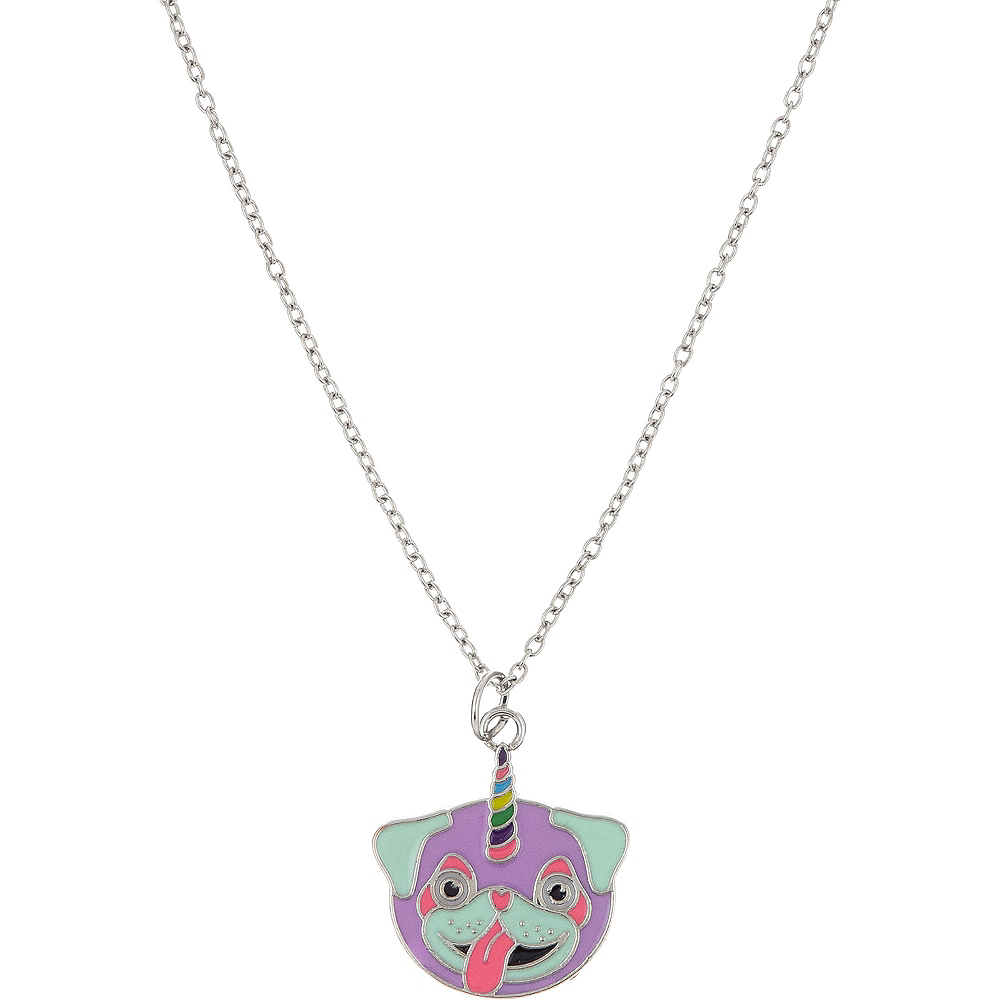 Neon Uni-Pug Necklace Image #1