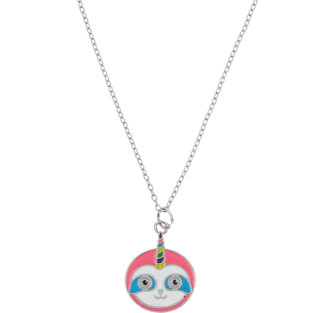 Nav Item for Neon Uni-Sloth Necklace Image #1