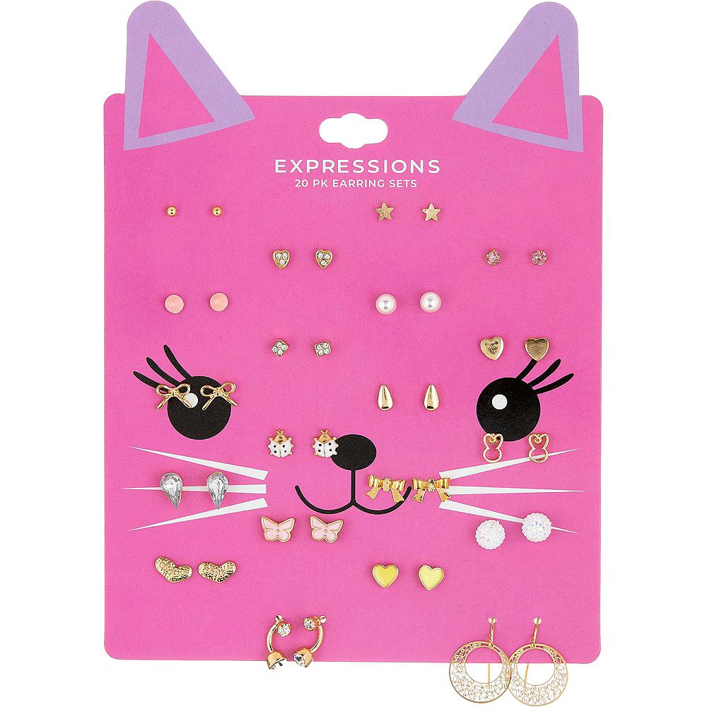 Neon Kitty's Favorite Earrings 20ct Image #1