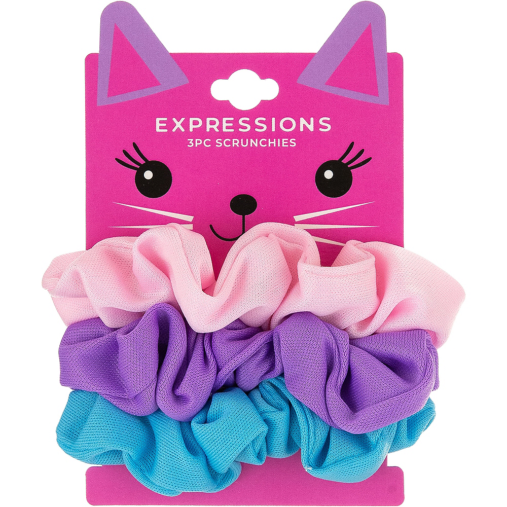 Neon Uni-Kitty's Favorite Scrunchie 3ct Image #1