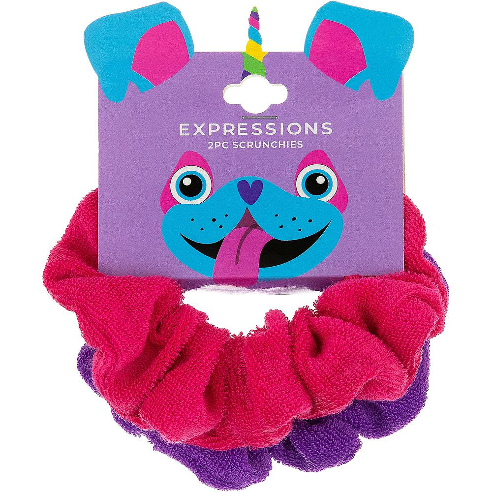 Neon Uni-Pug's favorite Scrunchie 2ct Image #1