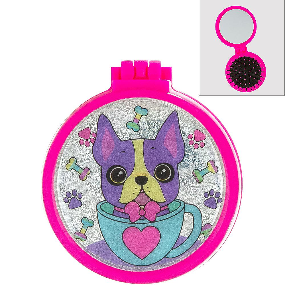 Iridescent Dog Pop-Up Brush & Mirror Image #1