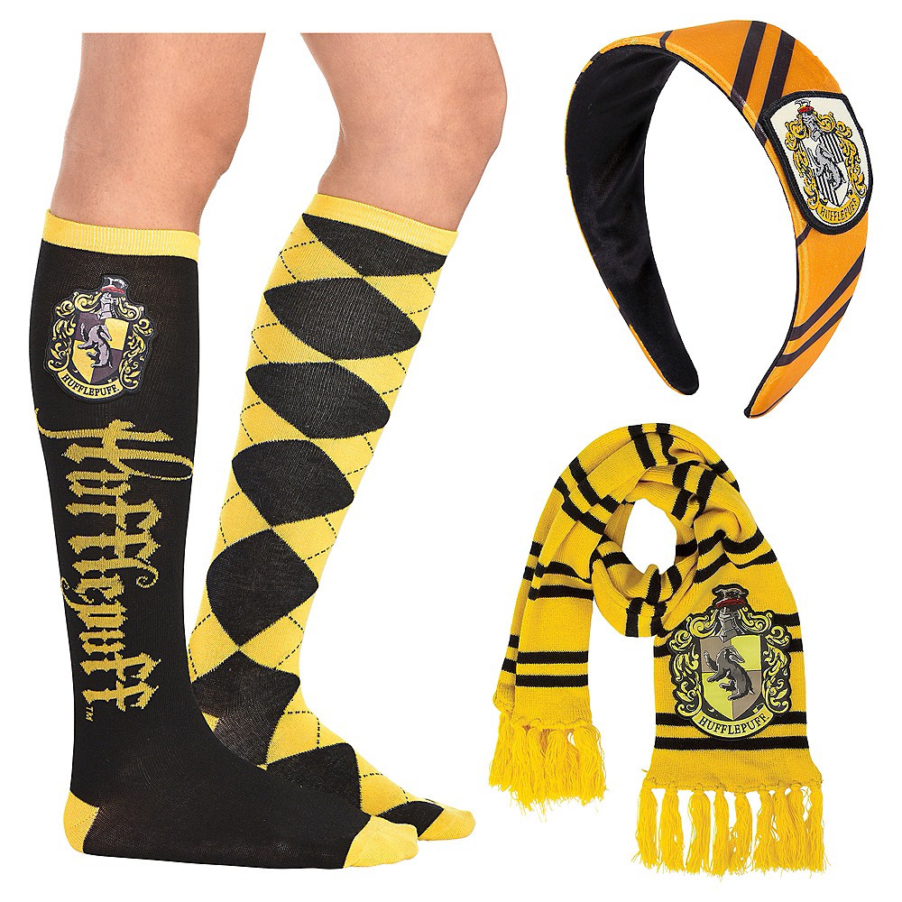 Nav Item for Adult Hufflepuff Accessory Kit - Harry Potter Image #1
