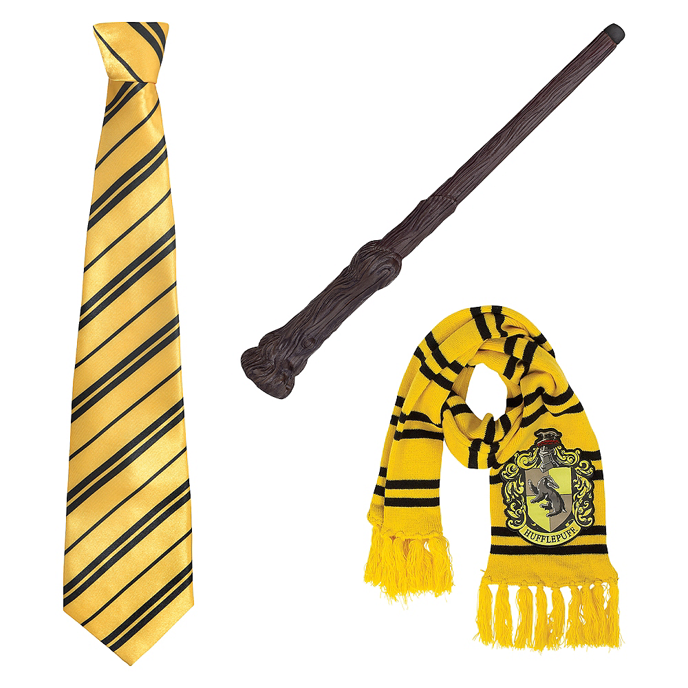 Adult Hufflepuff Accessories Kit - Harry Potter Image #1