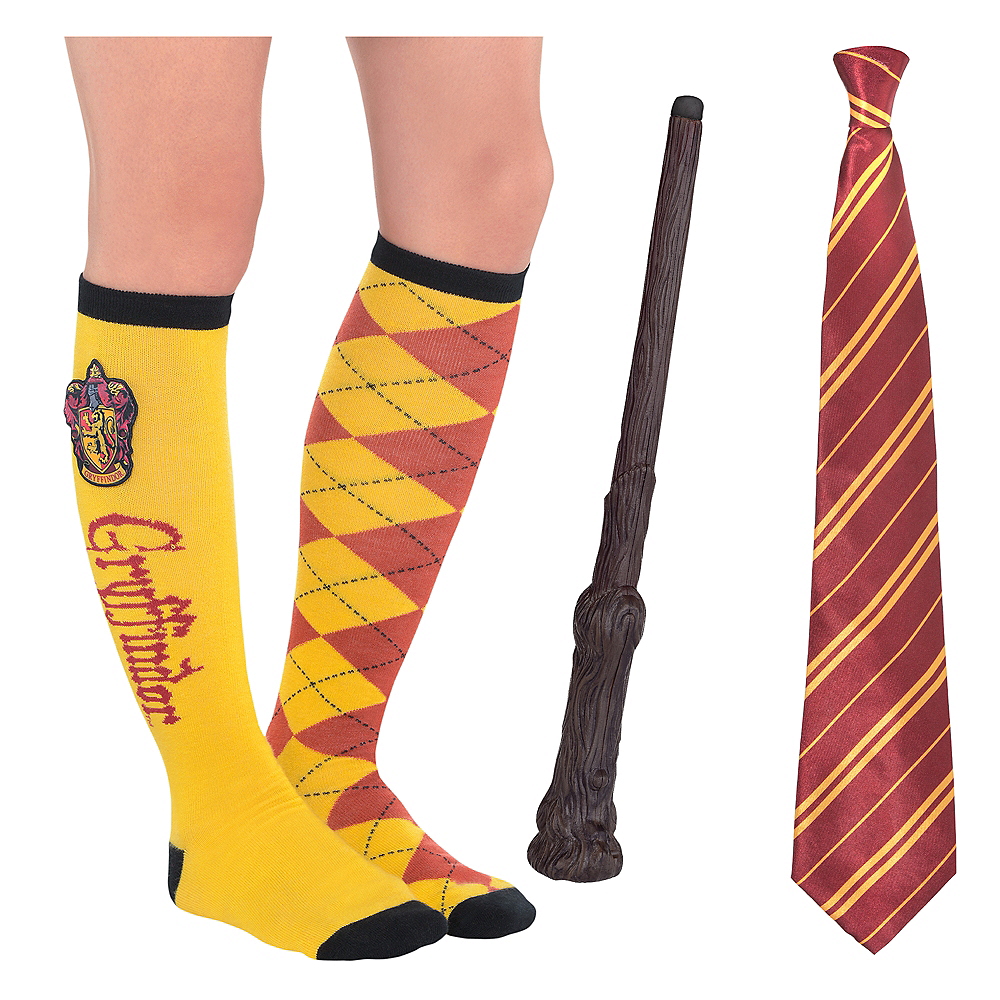 Adult Gryffindor Accessories Kit - Harry Potter Image #1