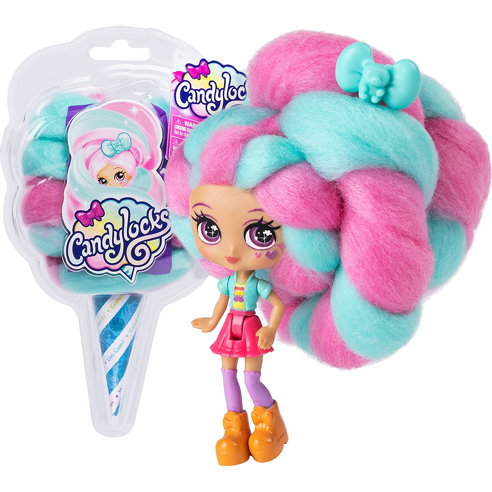 Candylocks 3-Inch Scented Collectible Surprise Doll with Accessories Image #1