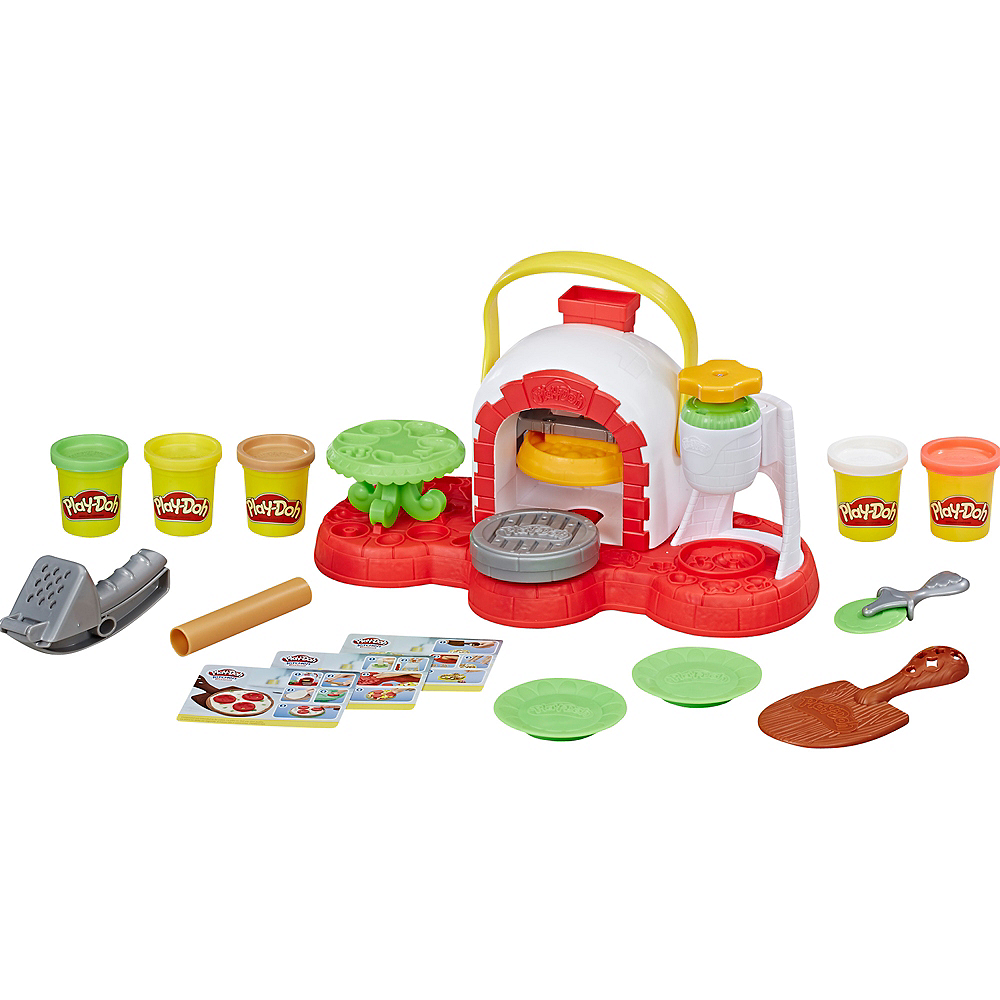 Play Doh Kitchen Creations Stamp n\' Top Pizza Oven