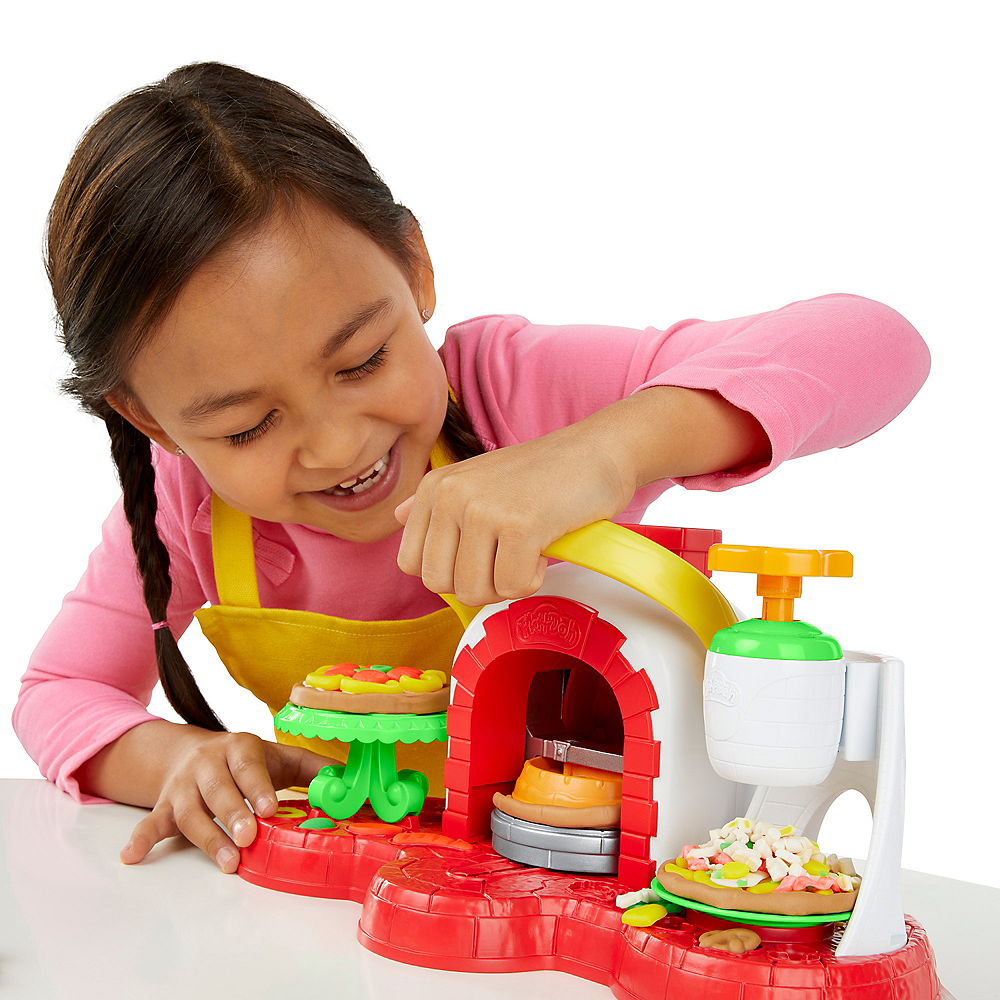 Play Doh Kitchen Creations Stamp n' Top Pizza Oven Image #2