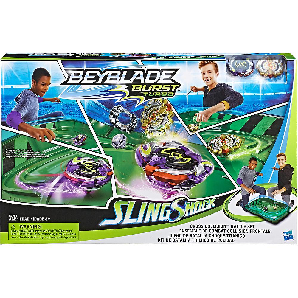 BeyBlade Burst Turbo Slingshock Battle Set Image #1