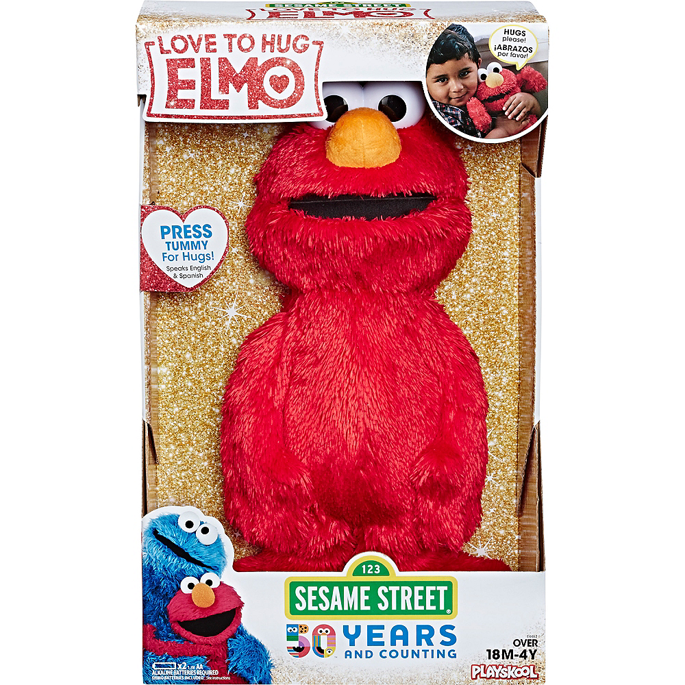 Nav Item for Love to Hug Elmo - Sesame Street Image #3