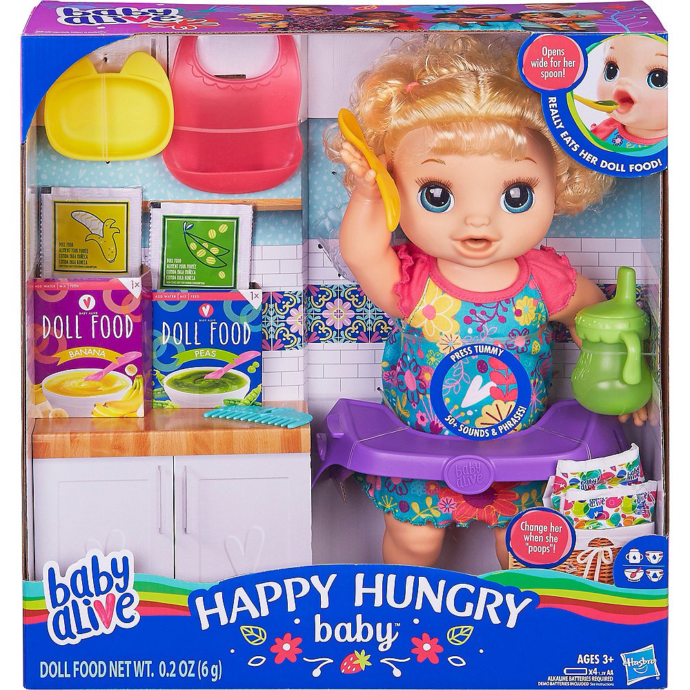 Baby Alive Happy Hungry Baby Image #4