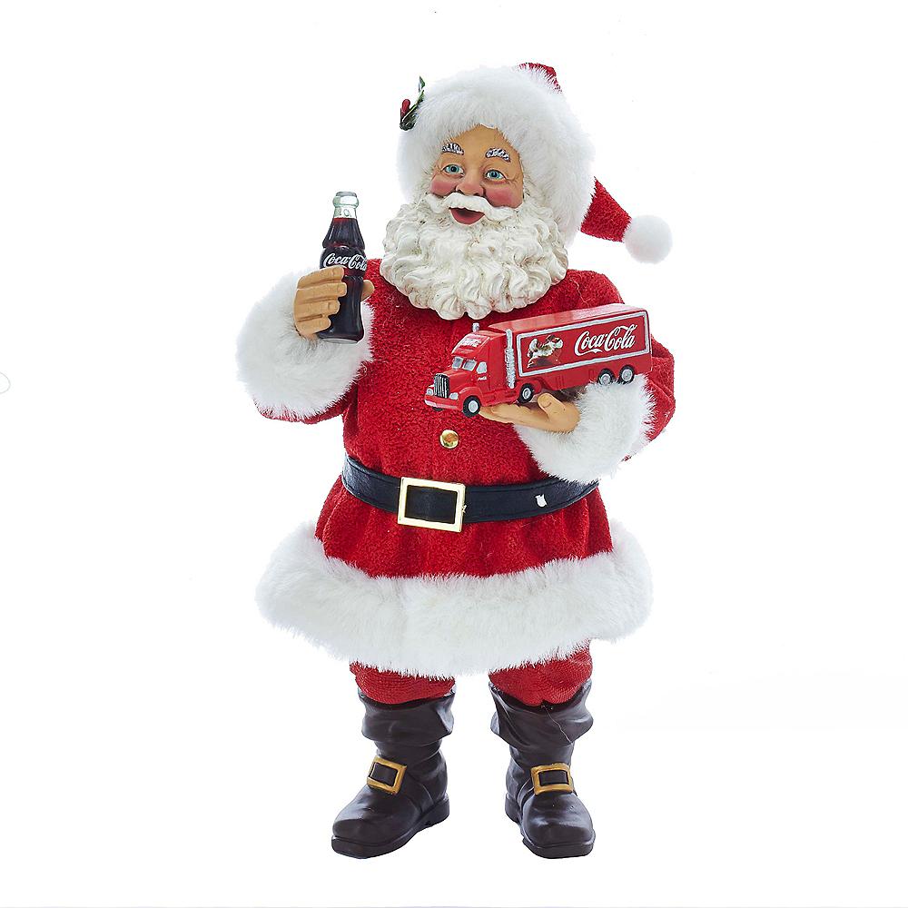 Kurt Adler Santa Holding Coca-Cola® Truck Image #1