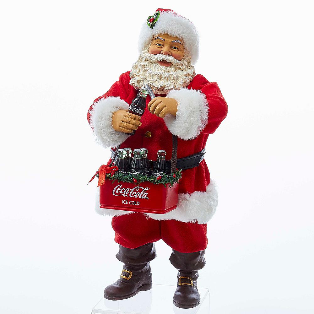 Kurt Adler Santa Opening Coke Tablepiece Image #1