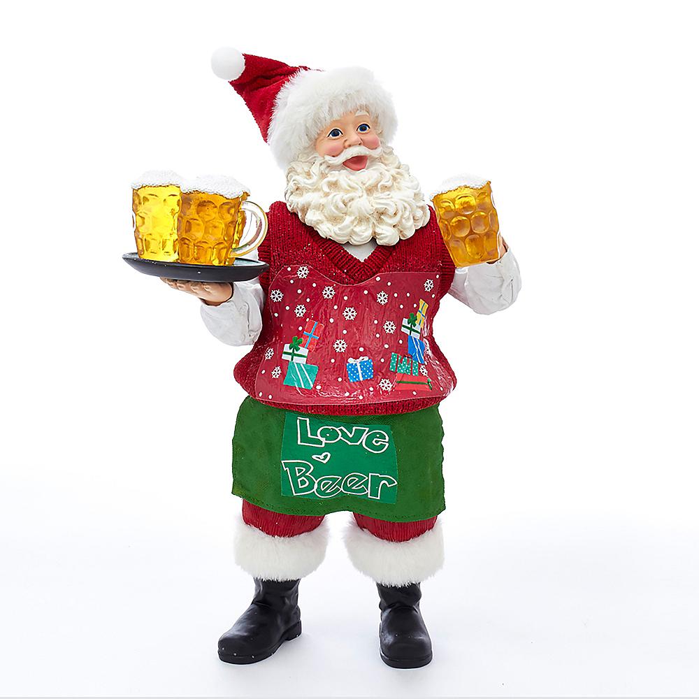 Kurt Adler Fabriche™ Beer Santa Image #1