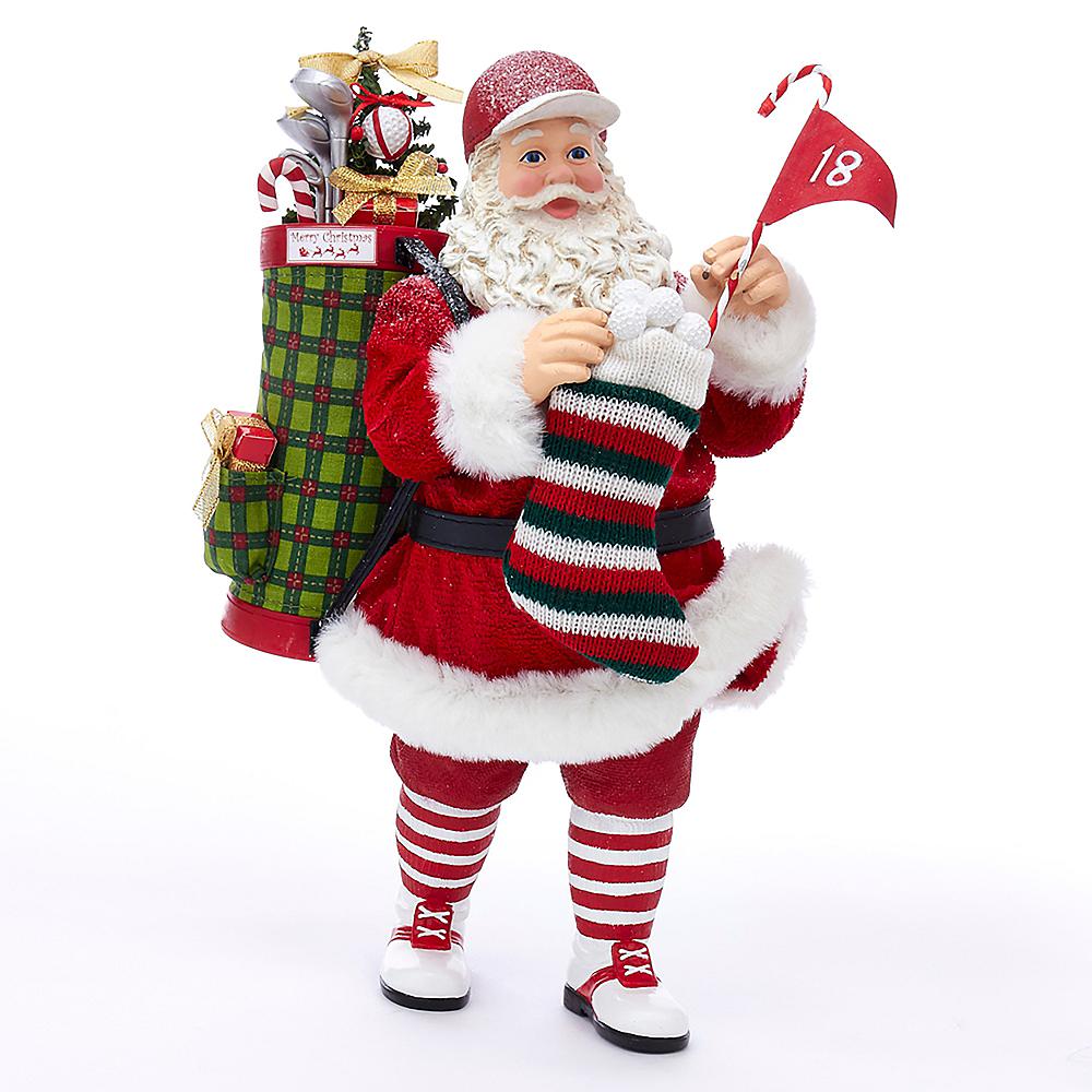 Kurt Adler Fabriche™ Golf Santa Image #1