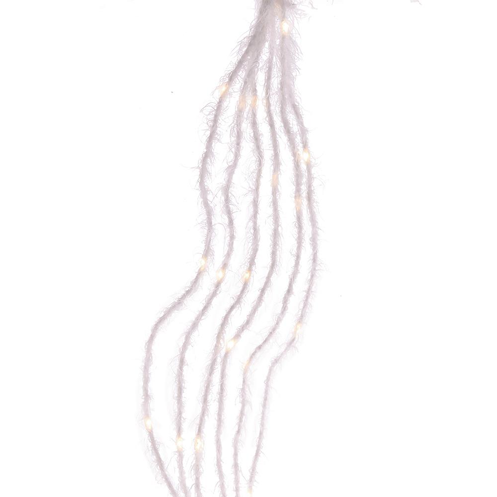 Kurt Adler White Fuzzy Multi-Strand LED Lights Image #1