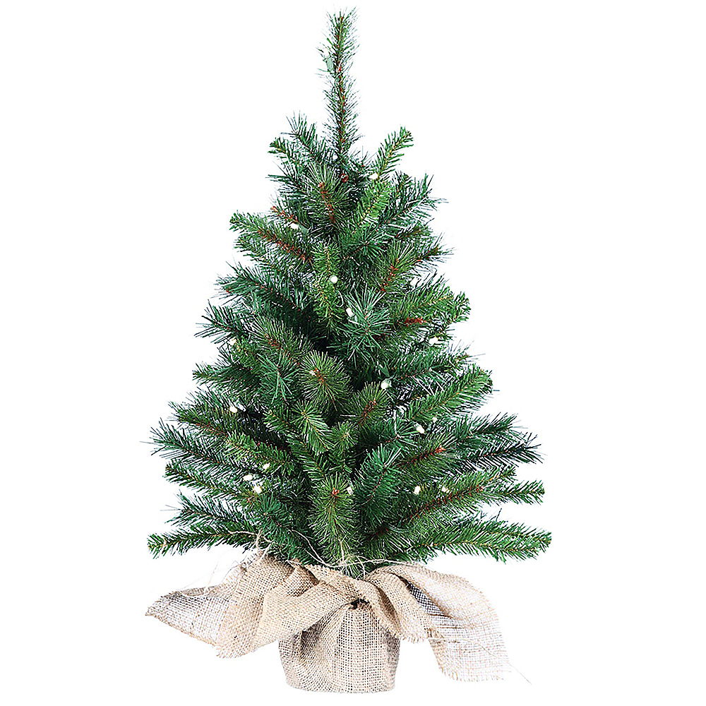 Nav Item for Kurt Adler Light-Up Pine Tree Image #1