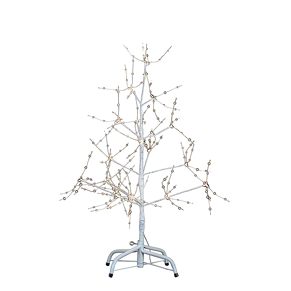 Kurt Adler Light-Up White LED Fairy Light Birch Bark Christmas Tree Image #1