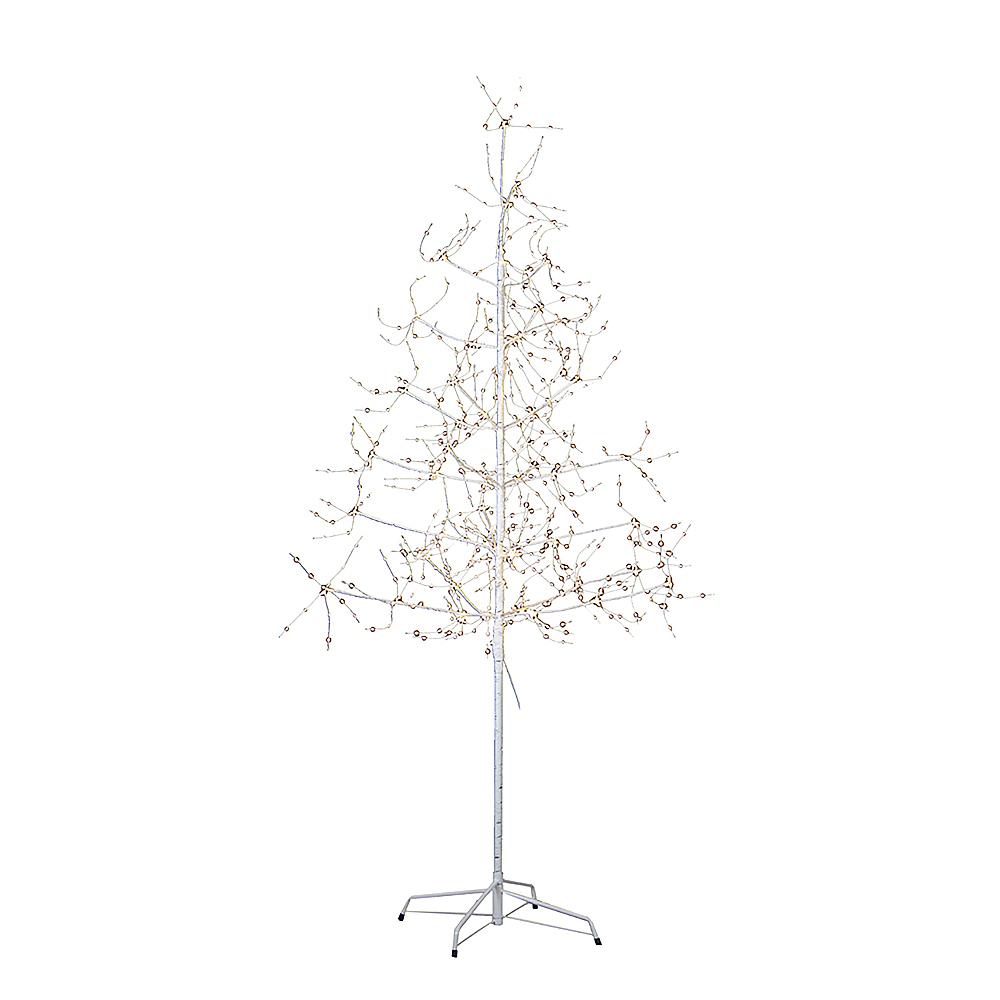 Kurt Adler White Birch Bark with LED Fairy Lights Tree Image #1
