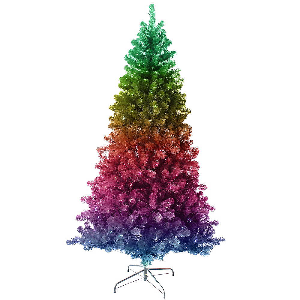 Kurt Adler Light-Up Twinkly LED Pine Tree Image #1