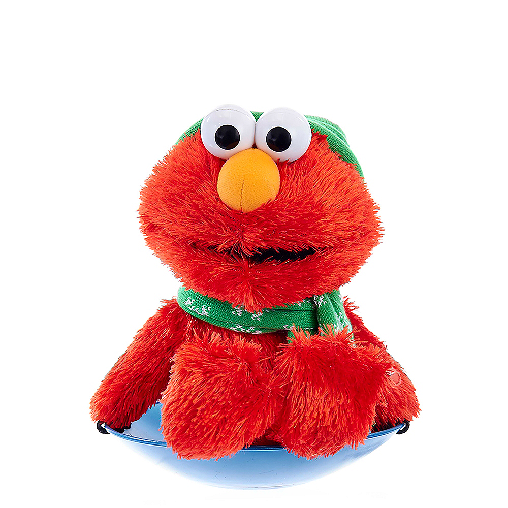 Nav Item for Kurt Adler Sesame Street Elmo Musical Tablepiece Image #1