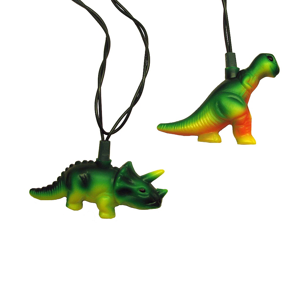 Kurt Adler Dinosaur String Lights Image #1