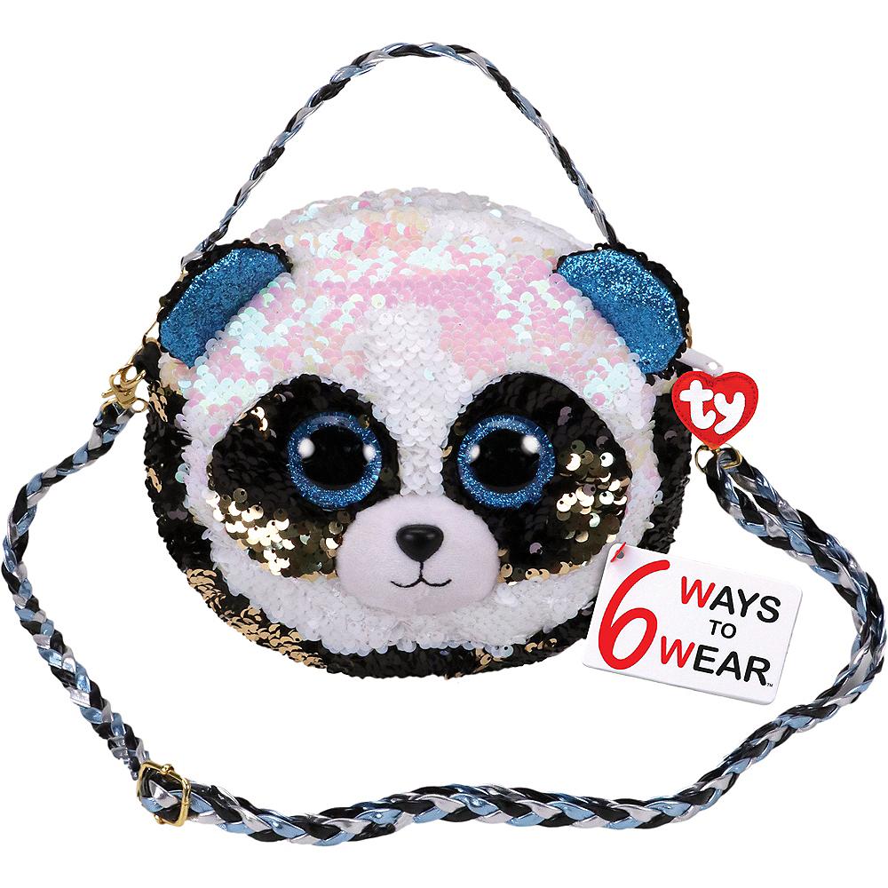 Bamboo TY Fashion Flip Sequin Panda Purse Image #1