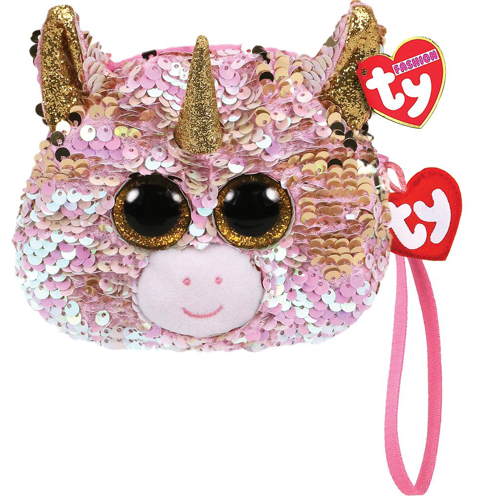 Fantasia TY Fashion Flip Sequin Unicorn Wristlet Image #1