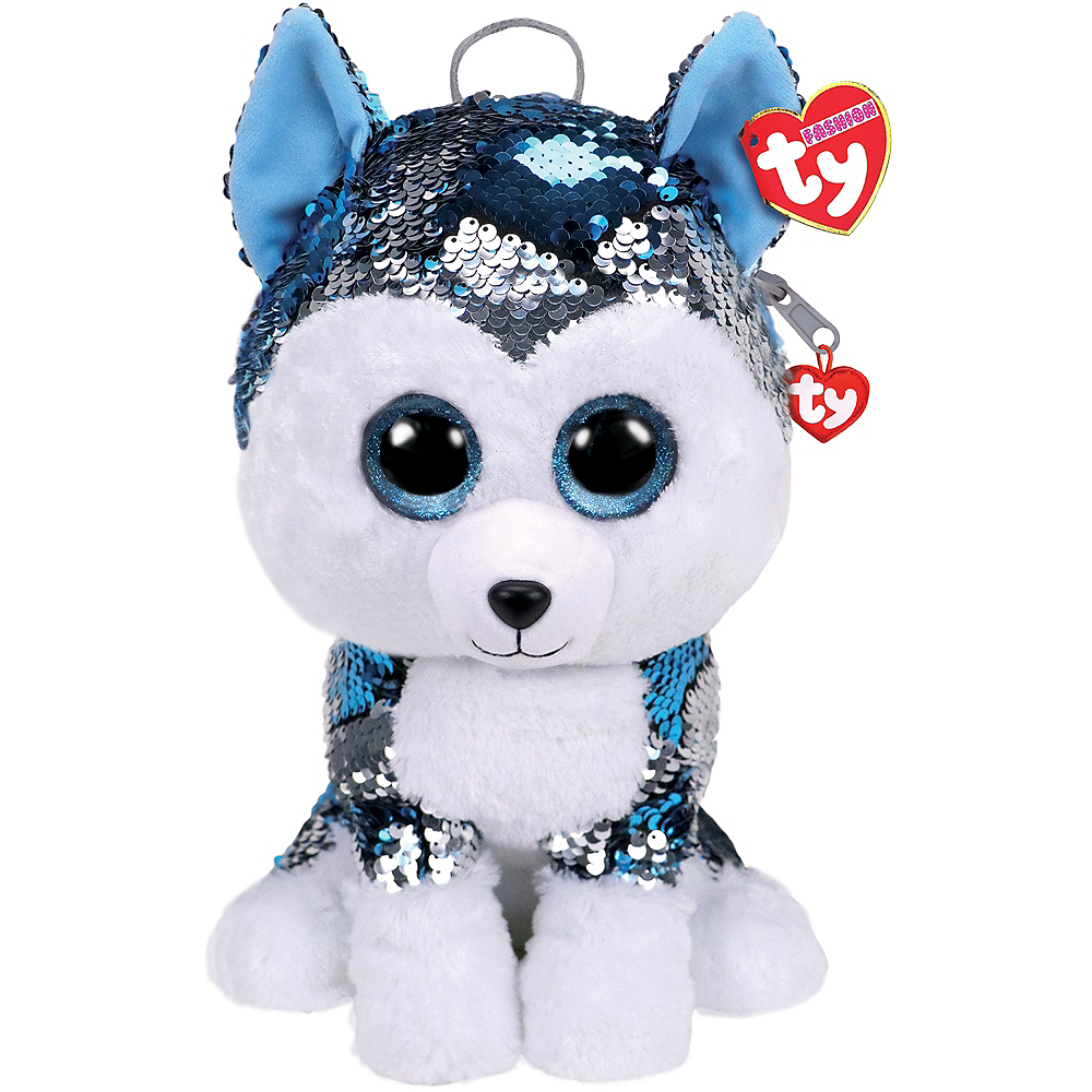 Slush TY Fashion Flip Sequin Husky Backpack Image #1