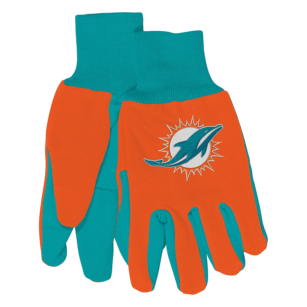 Miami Dolphins Gloves Image #1