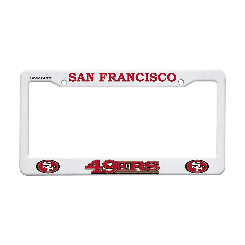 San Francisco 49ers License Plate Frame Image #1
