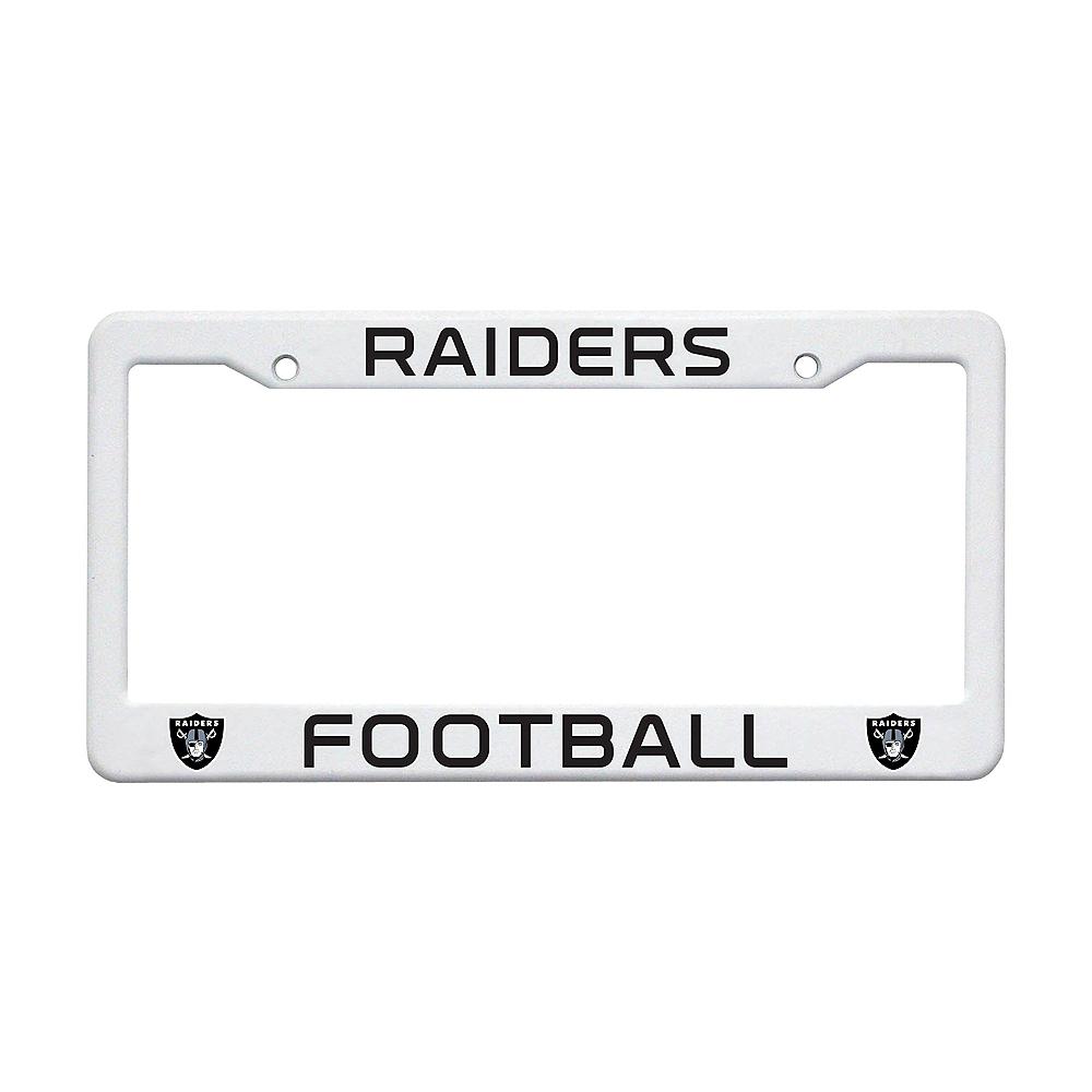 Oakland Raiders License Plate Frame Image #1