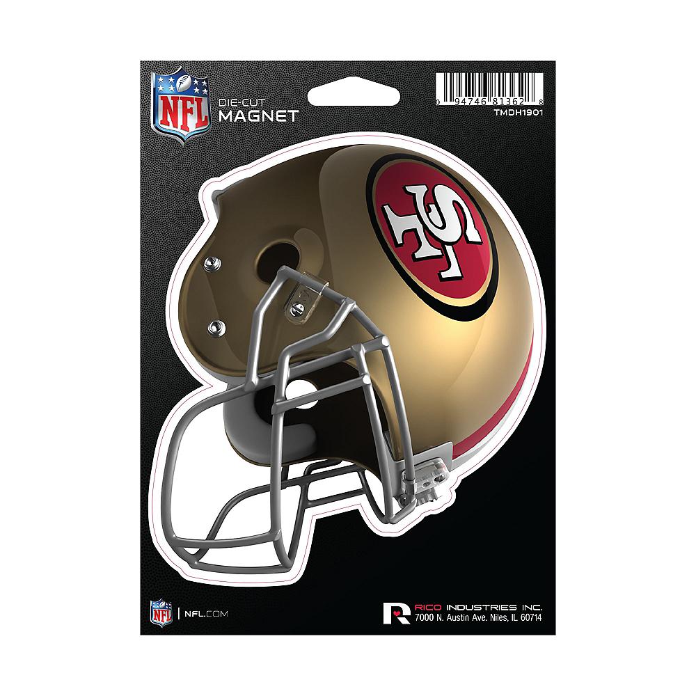 San Francisco 49ers Die-Cut Magnet Image #1