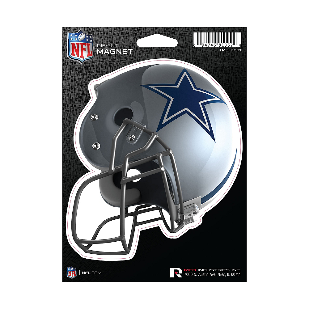 Dallas Cowboys Die-Cut Magnet Image #1
