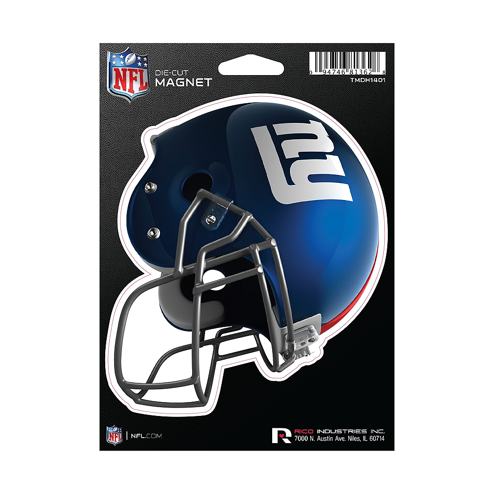 New York Giants Die-Cut Magnet Image #1