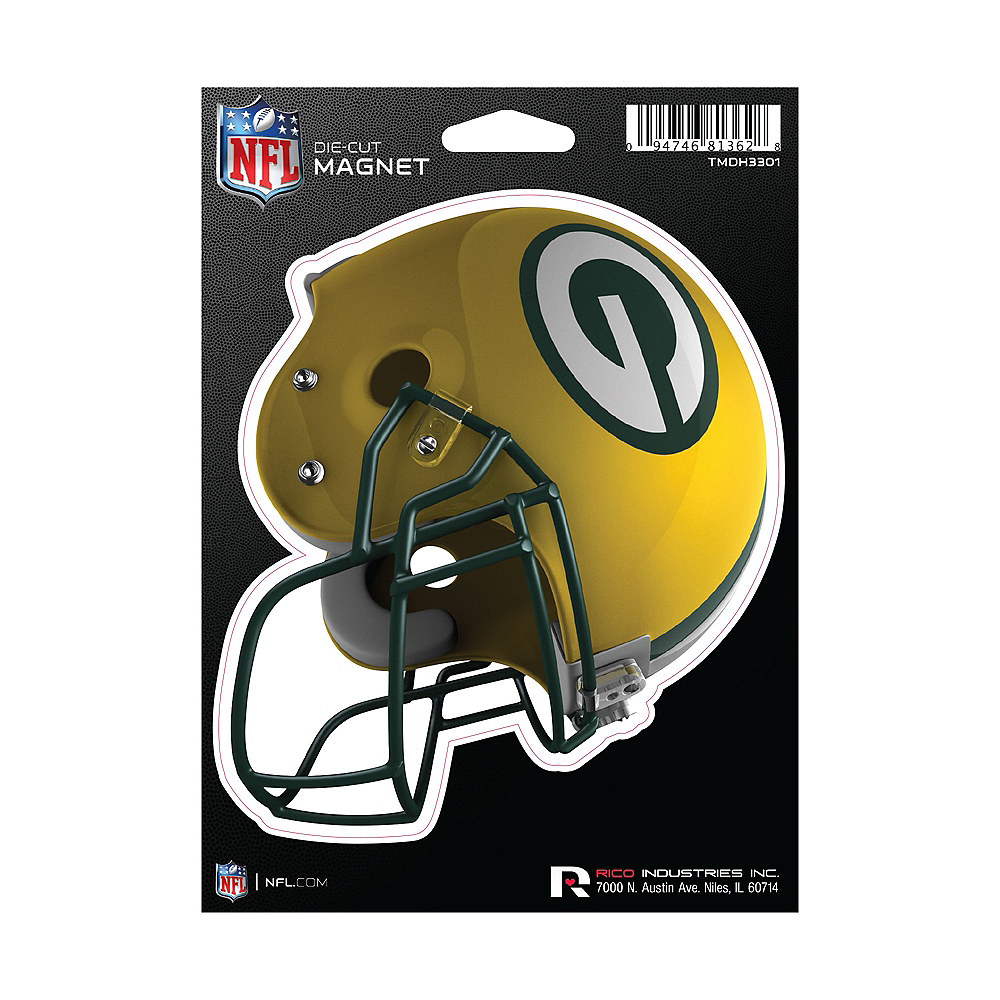 Green Bay Packers Die-Cut Magnet Image #1
