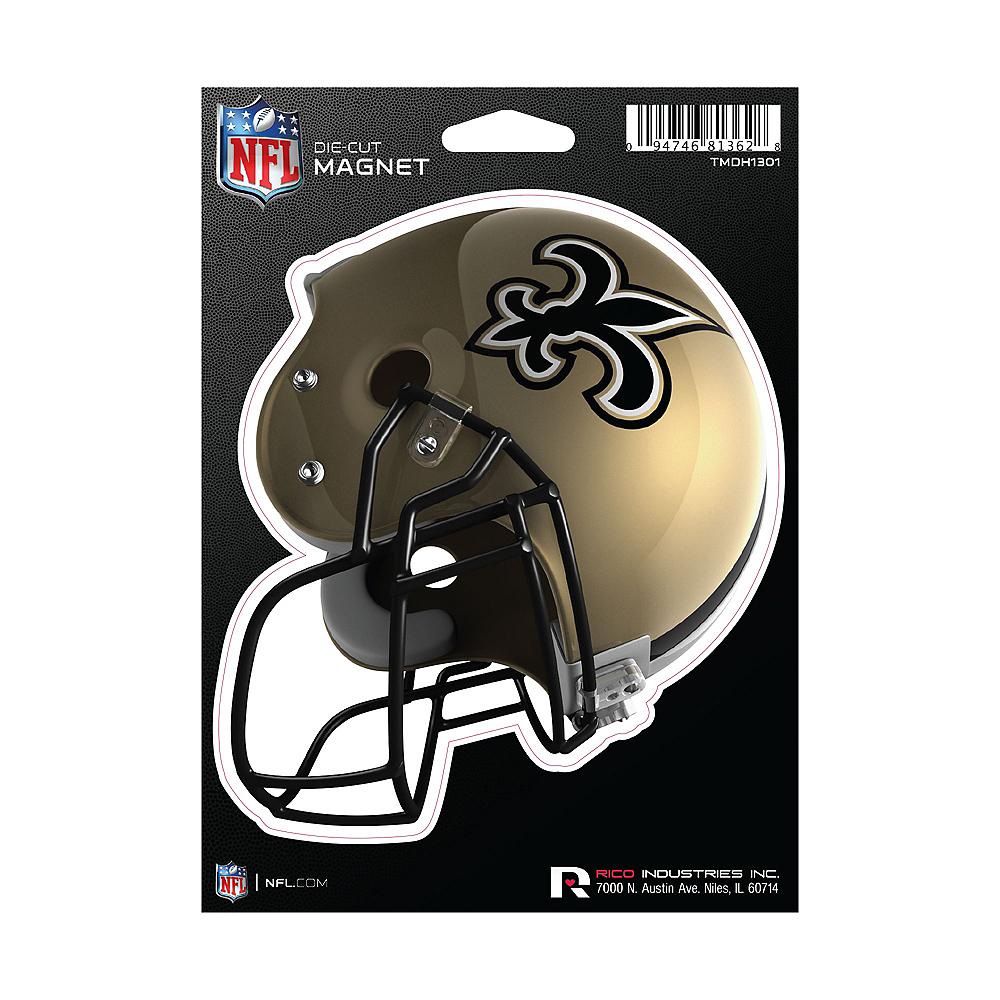 New Orleans Saints Die-Cut Magnet Image #1