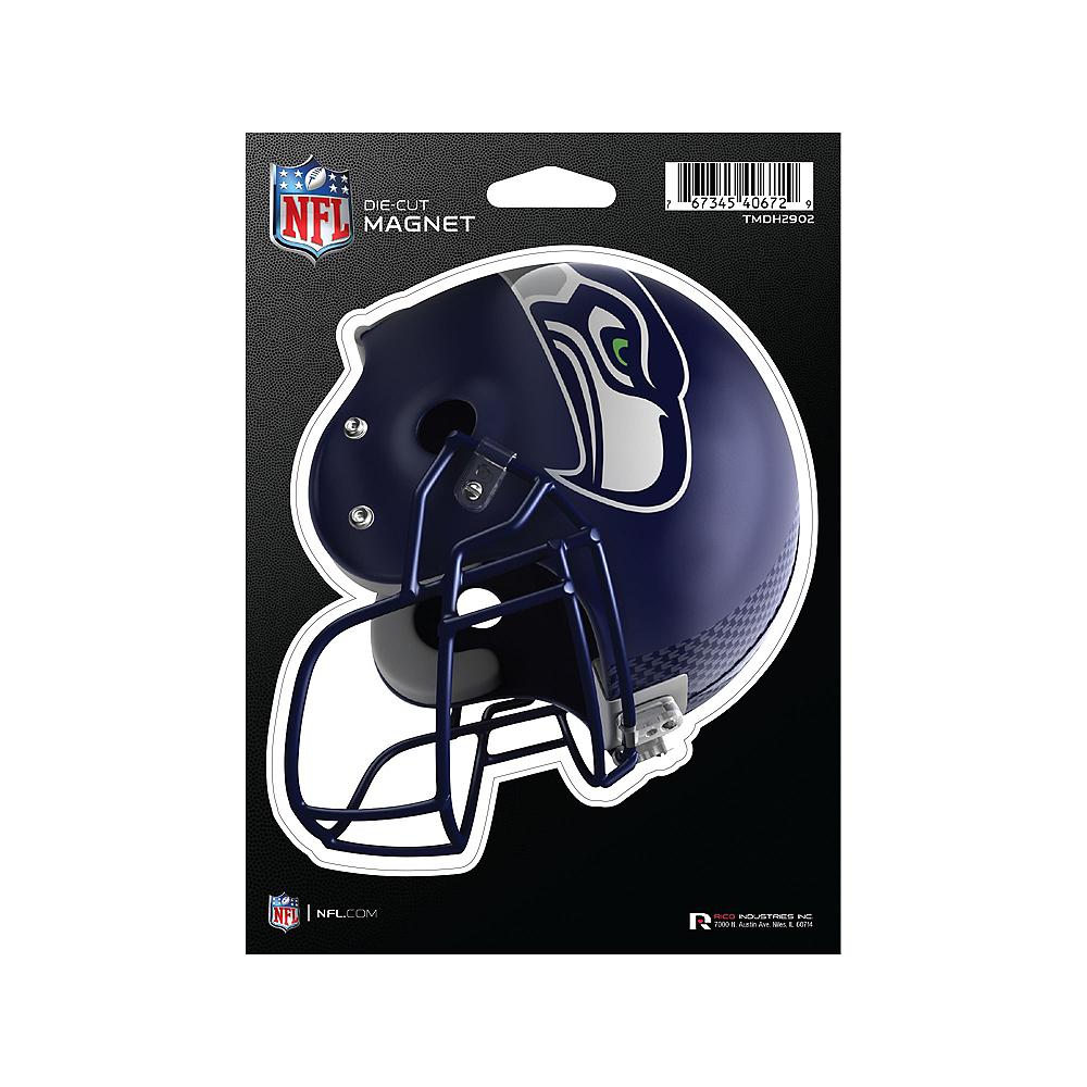 Seattle Seahawks Die-Cut Magnet Image #1
