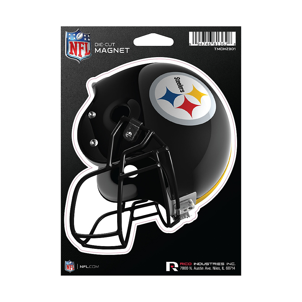 Pittsburgh Steelers Die-Cut Magnet Image #1